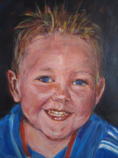 portret Dave (verkocht)