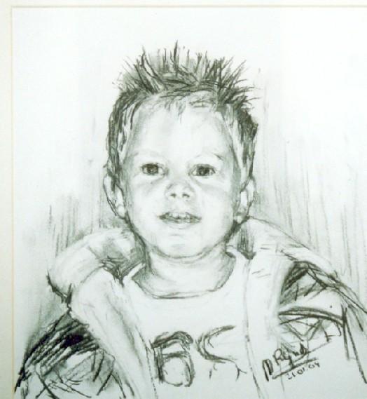 portret Max (verkocht)