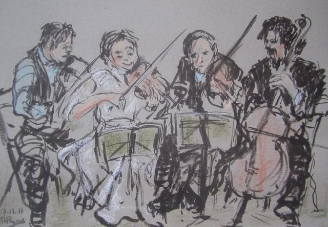 Orkestje met Imre