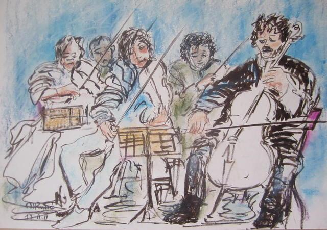 orkestje (violen en cello)