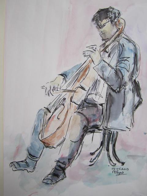 Cellist Imre