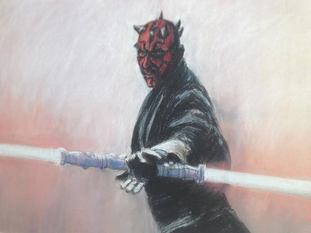 Darth Maul van Star Wars (verkocht)