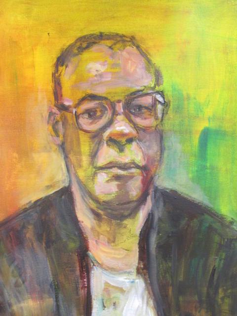 Howard Komproe  (hangt in zijn atelier)