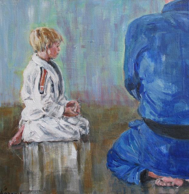 Remi 7 jaar op judo
