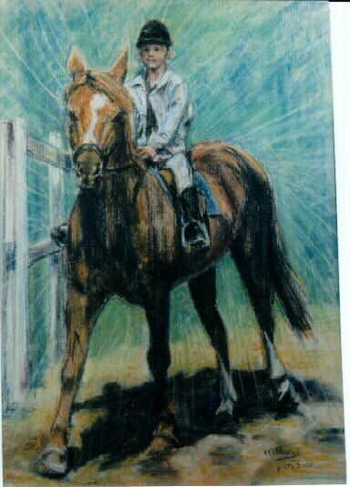 """Paard """"Betty"""" (verkocht)"""