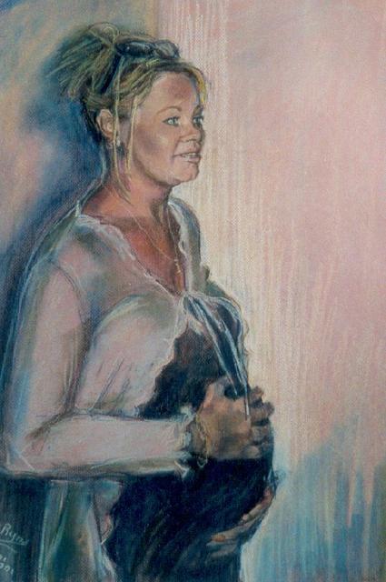 portret Sandra (verkocht)