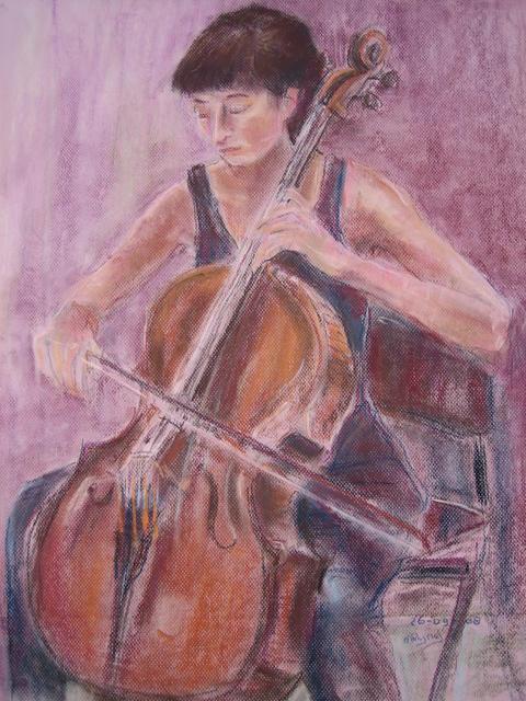 Meisje met de cello