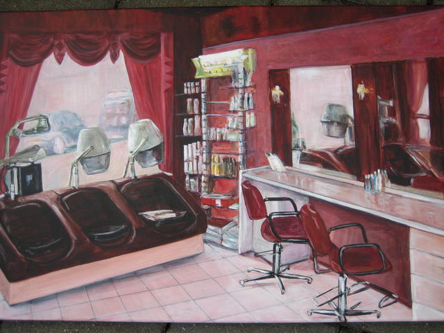kapsalon Dini Amsterdam  (verkocht)