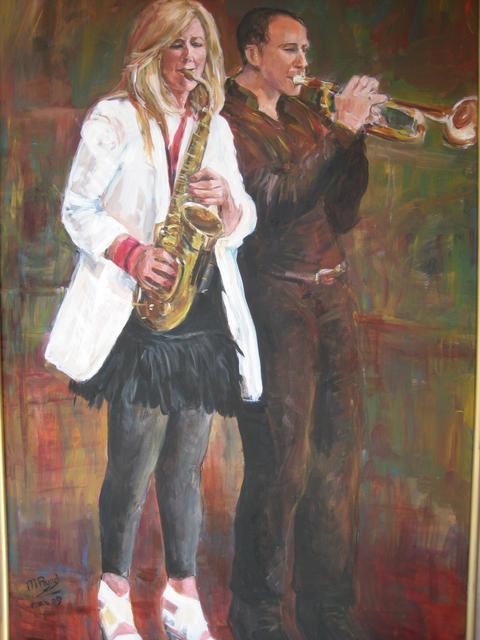 saxofoniste en trompettist